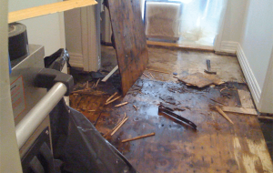 Water Damage Repair Floor damager Restoration